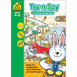 School Zone, Try-N-Spy Adventure, Ages 4-6