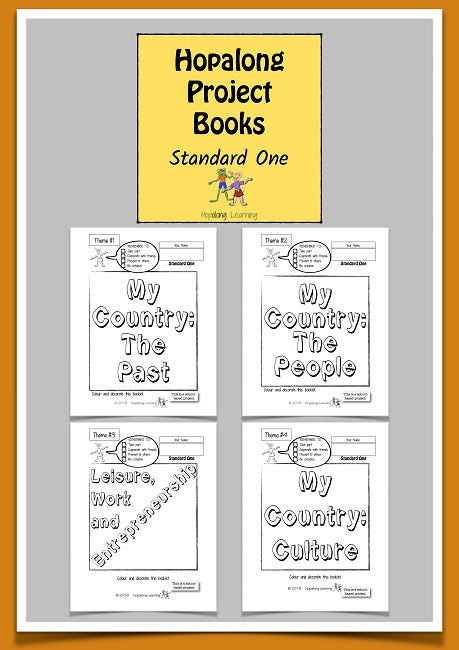 Hopalong  Project Books, Standard One Pack, BY L. Powell Cadette