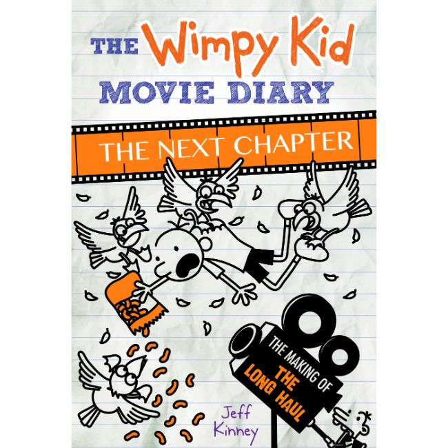 Diary of a Wimpy Kid, The Movie Diary, The Next Chapter, Long Haul, Hardcover BY Jeff Kinney