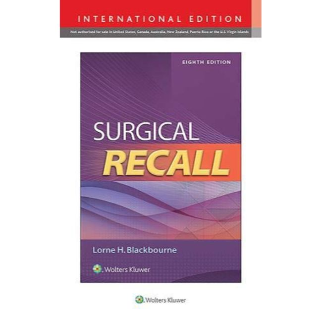 Surgical Recall, 8e BY L. Blackbourne