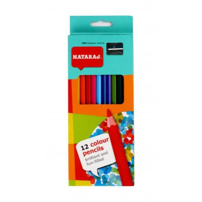 Nataraj, Colour Pencil, 12count