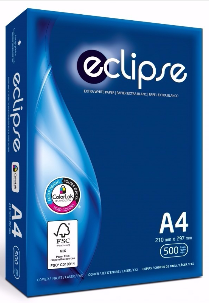 Eclipse, Copy Paper, A4 / Letter Size, 500sheets, 1 count