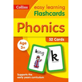 Collins Easy Learning Flashcards, Phonics Ages 3-5, BY Collins UK