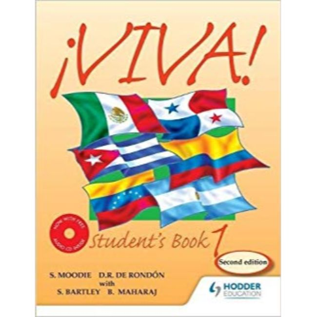 Viva Student Book 1 with Audio CD BY Bedoor Maharaj, Sylvia Kublalsingh, Derrunay Rondon, Sydney Bartley