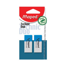 Maped, Eraser, Technic Duo, 2count