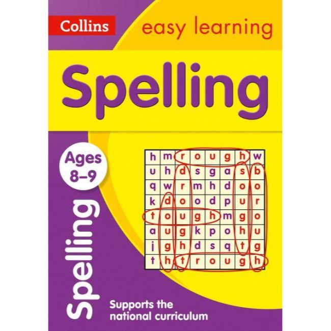 Collins Easy Learning Activity Book, Spelling Ages 8-9, BY Collins UK