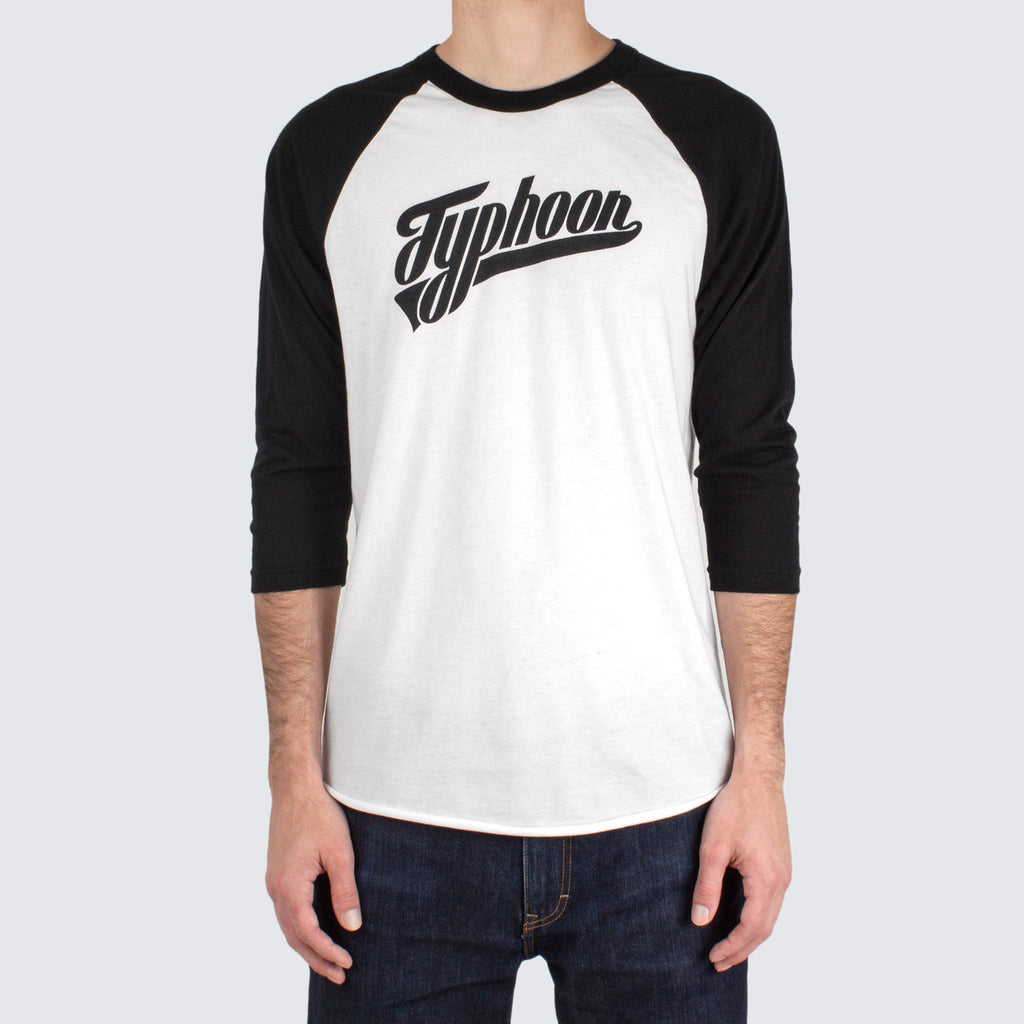 'Typhoon' Baseball Raglan