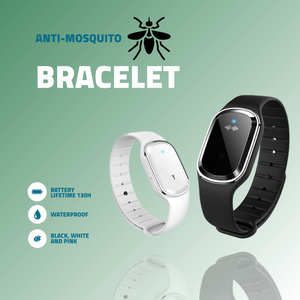 Ultrasonic Anti-Insects Waterproof Bracelet