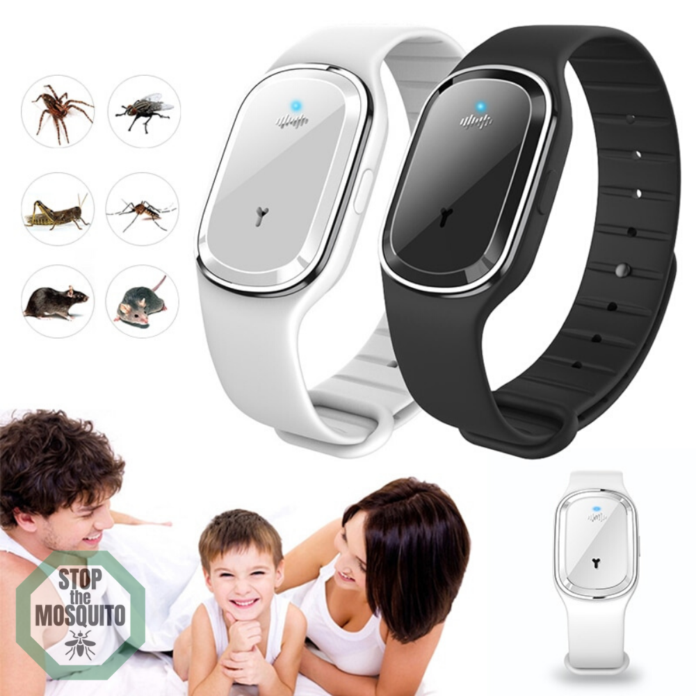 Ultrasonic Anti-Insects Waterproof Bracelet 2