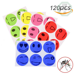 Refreshing Anti-Insects Natural Stickers 120pcs