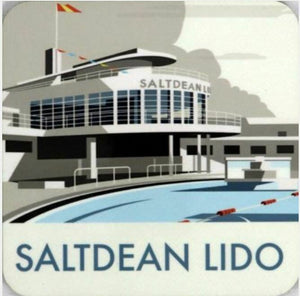 Saltdean Lido Coaster Dave Thompson