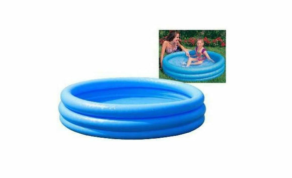 Children's Inflatable 3 Ring Paddling Pool 45 Inch