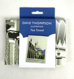 Brighton Pavilion Tea Towel