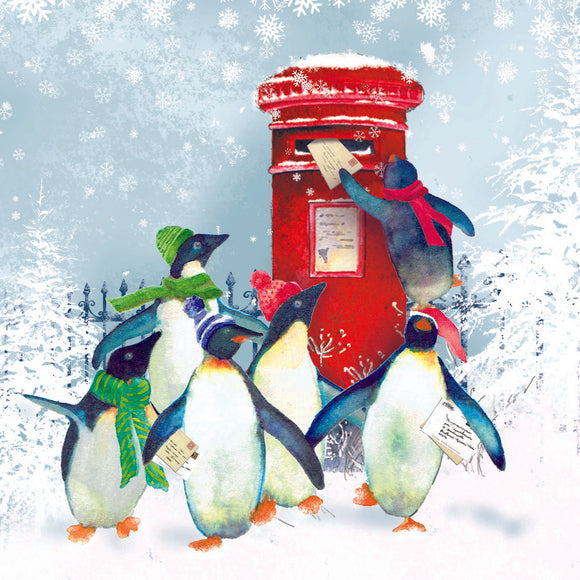 Penguin Posties Christmas Cards - Pack of 10