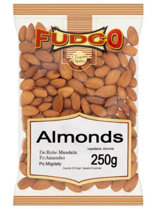 Fudco ALMONDS BADAM WHOLE ALMONDS 250g