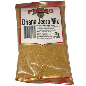 Fudco DHANA JEERA MIX GROUND SPICES MIX 100g