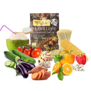 Barbecue Set Box Of Selected Veg & Fruit Ready Steady Cook