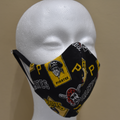 Sports Team Mask - Pirates Black - Beyond Masks