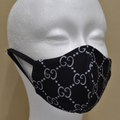 Designer Mask - Gucci Black & White - Beyond Masks