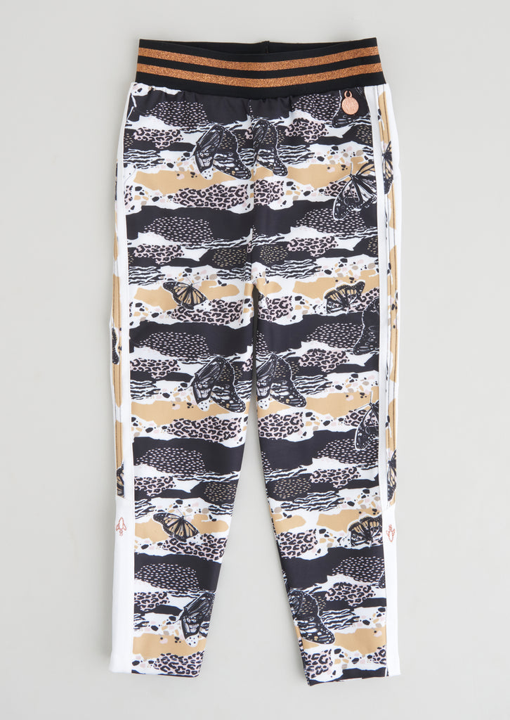 Phoebe Side Stripe Printed Legging