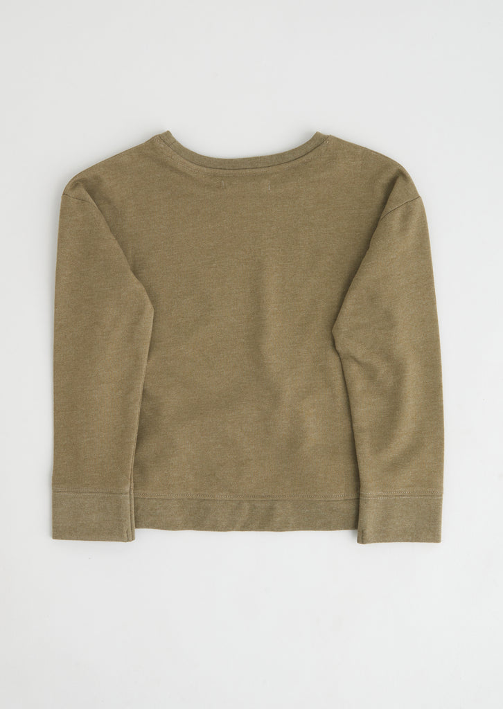 Luna Khaki Star Sweat
