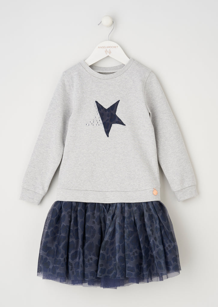 Ella Star Tutu Sweat Dress