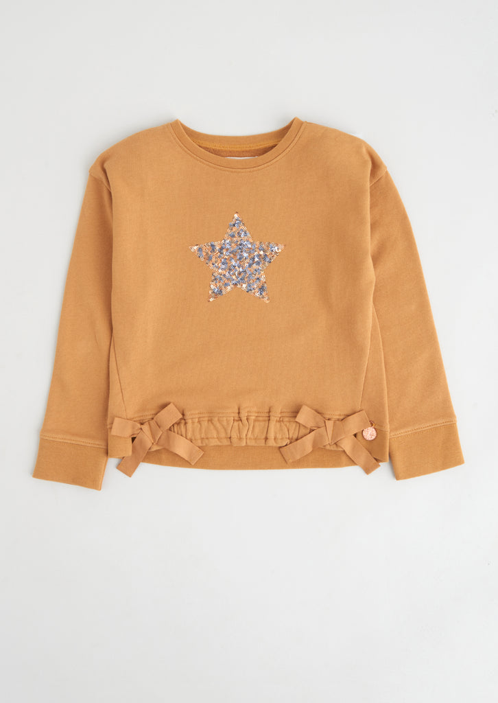 Luna Ochre Star Sweat
