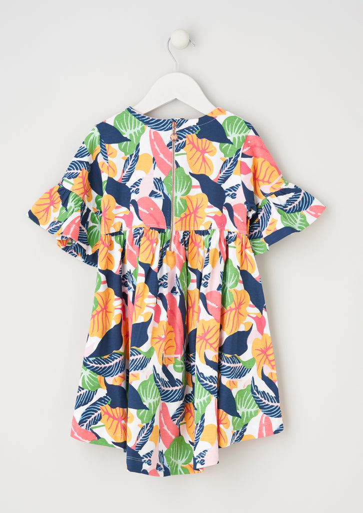 Betsy Multi Jersey Printed Dress