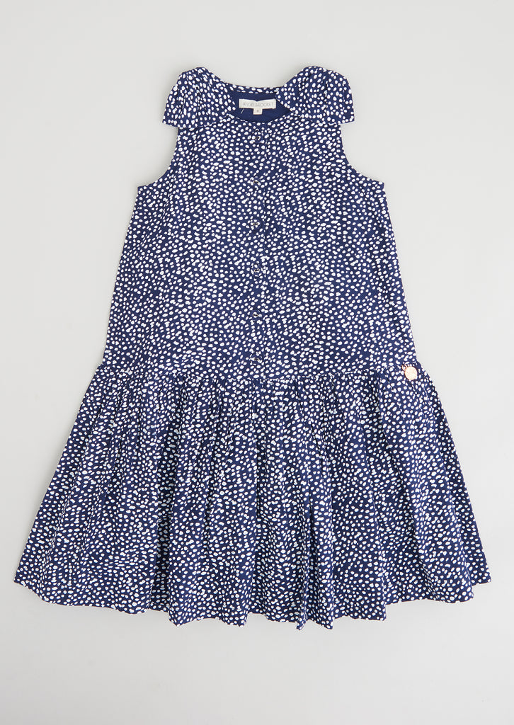 Bonnie Denim Woven Tiered Dress