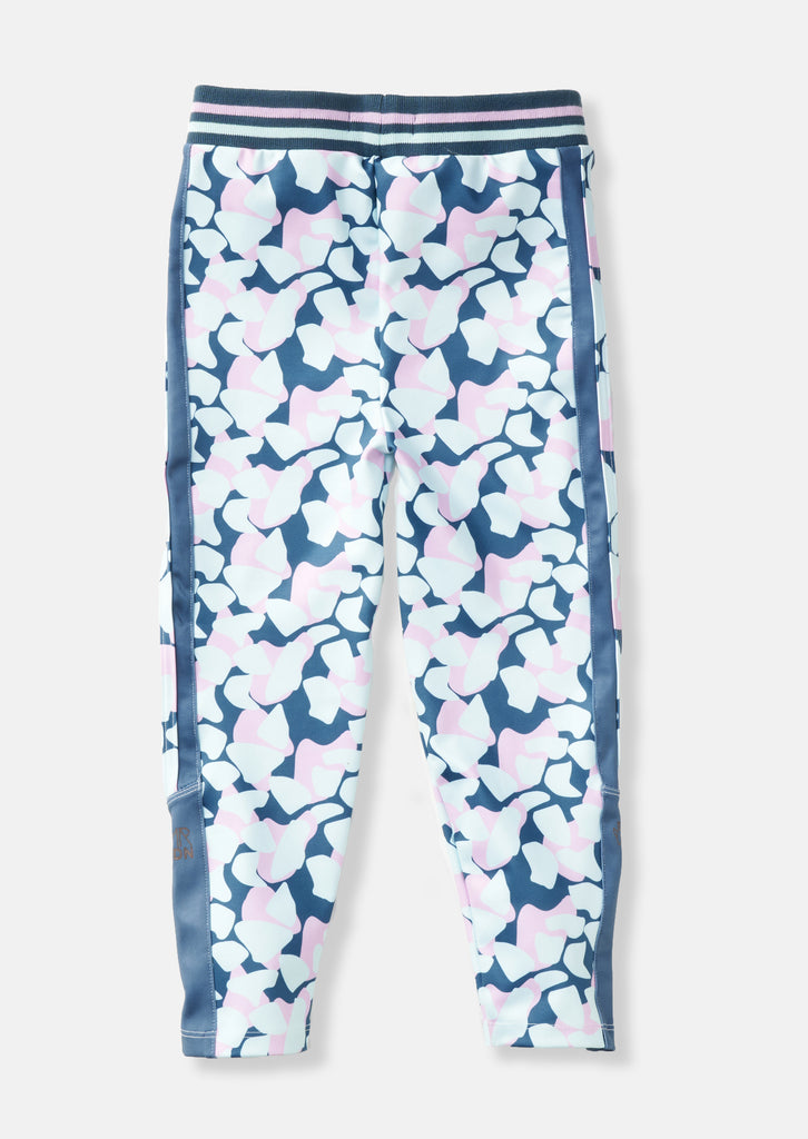 Panel Print Blue Legging