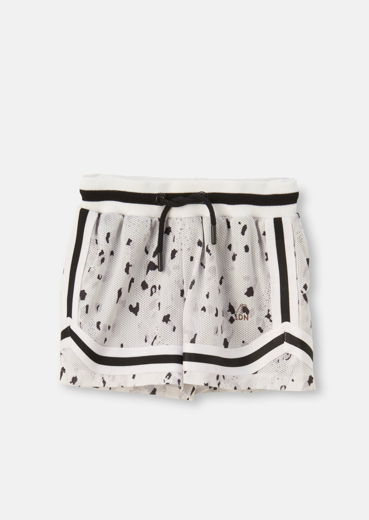 Leopard Basket Ball Short