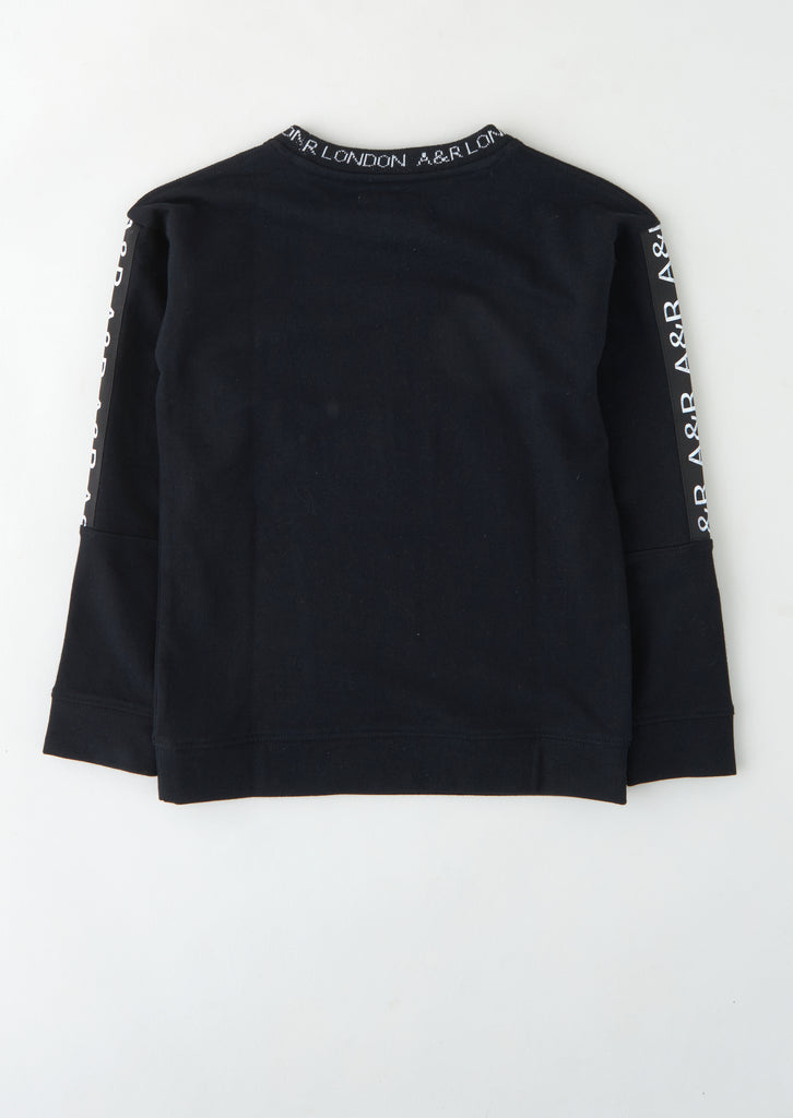 Kayne Graphic Sweat Top