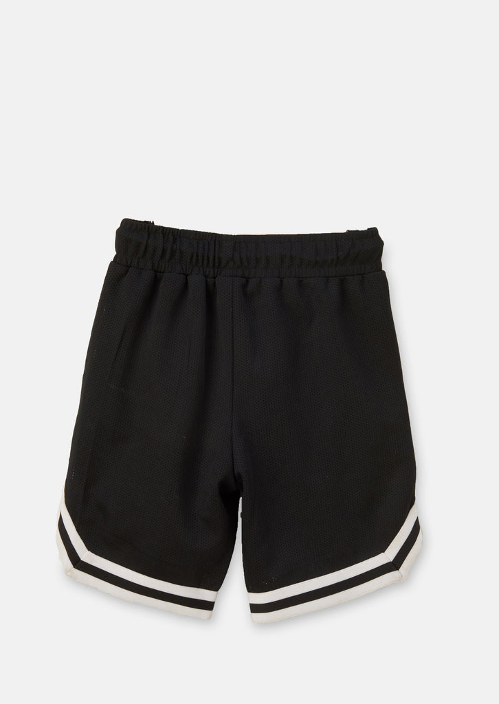 Ryan Active Black Basketball Short