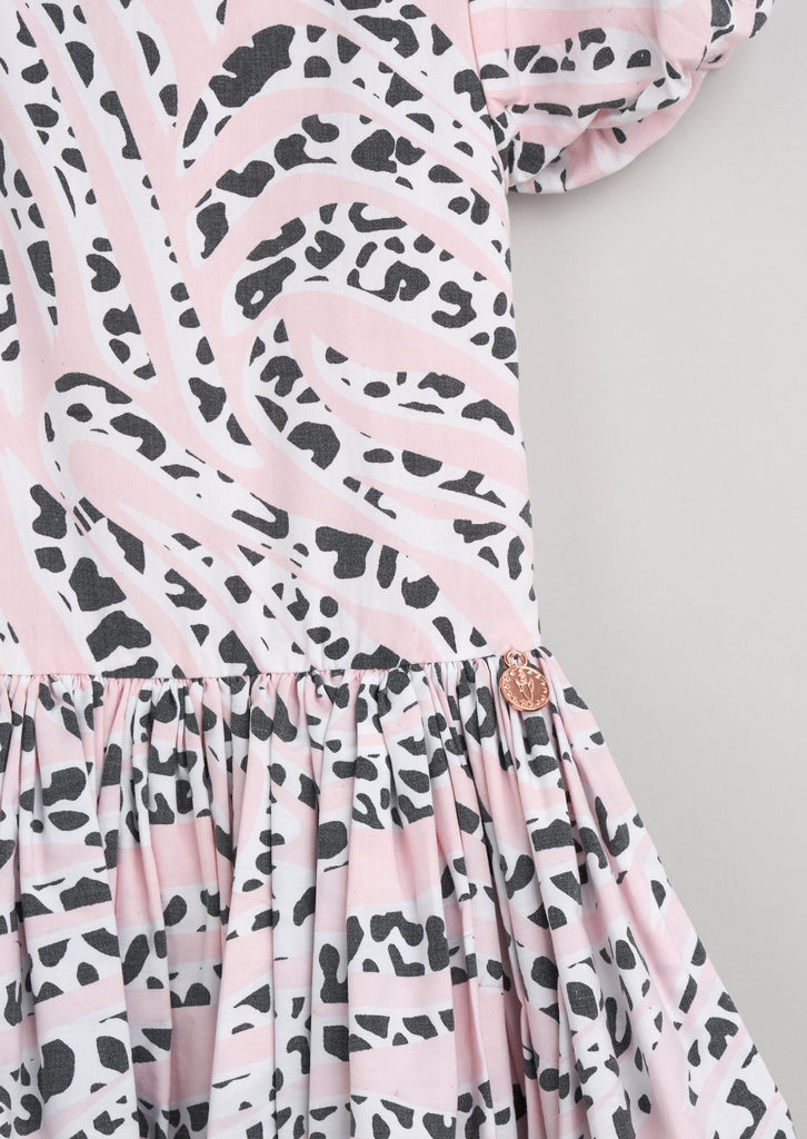 Mitzy Animal Puffball Dress