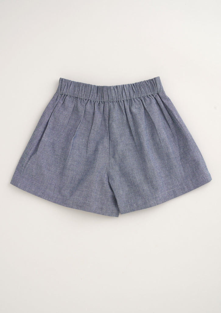 Jo-Jo Bow Pleat Shorts
