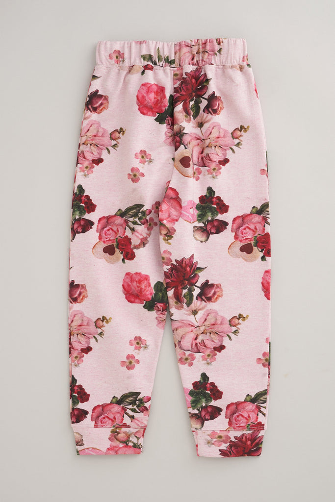 Arla Floral Sweat Bottoms