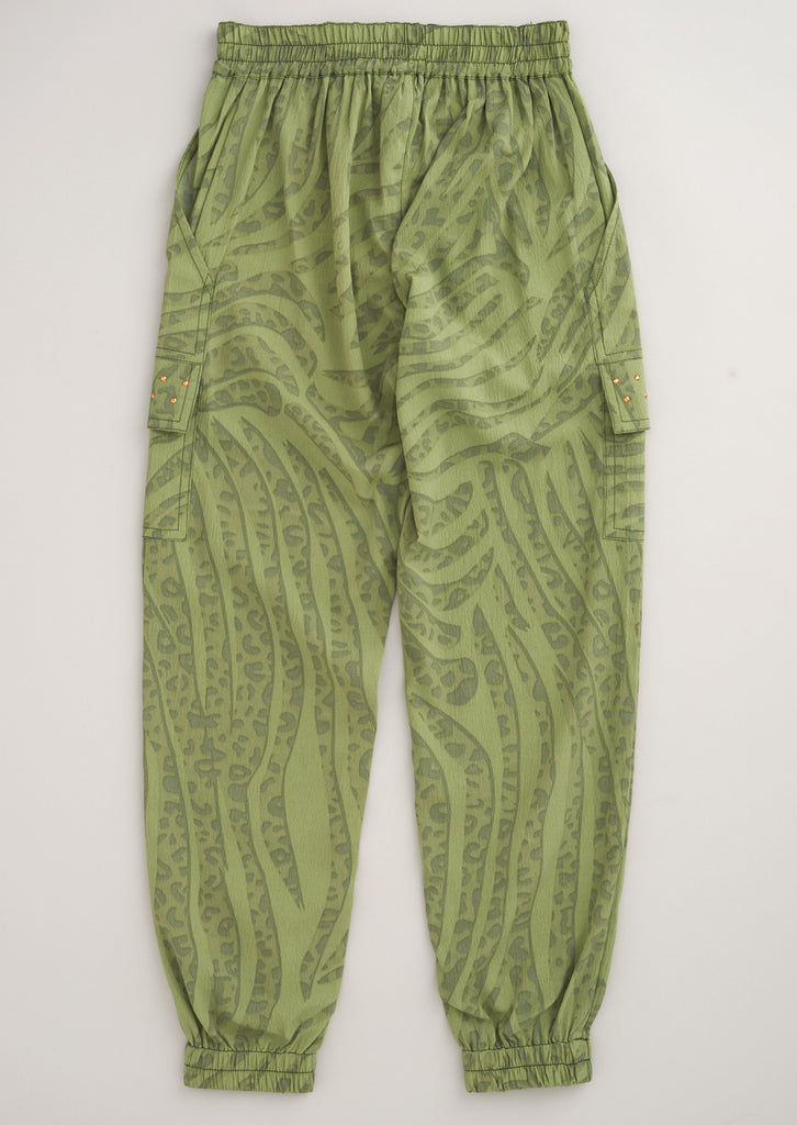 Harriett Animal Cargo Trouser