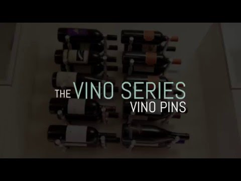 Vino Pin Metal Wine Peg (2 bottle)