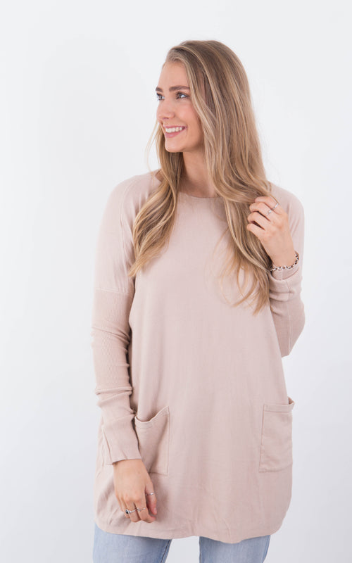 Darcy Top - Beige