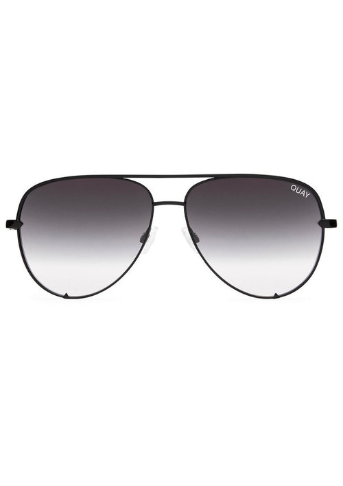 QUAY SUNGLASSES - HIGH KEY BLACK FADE
