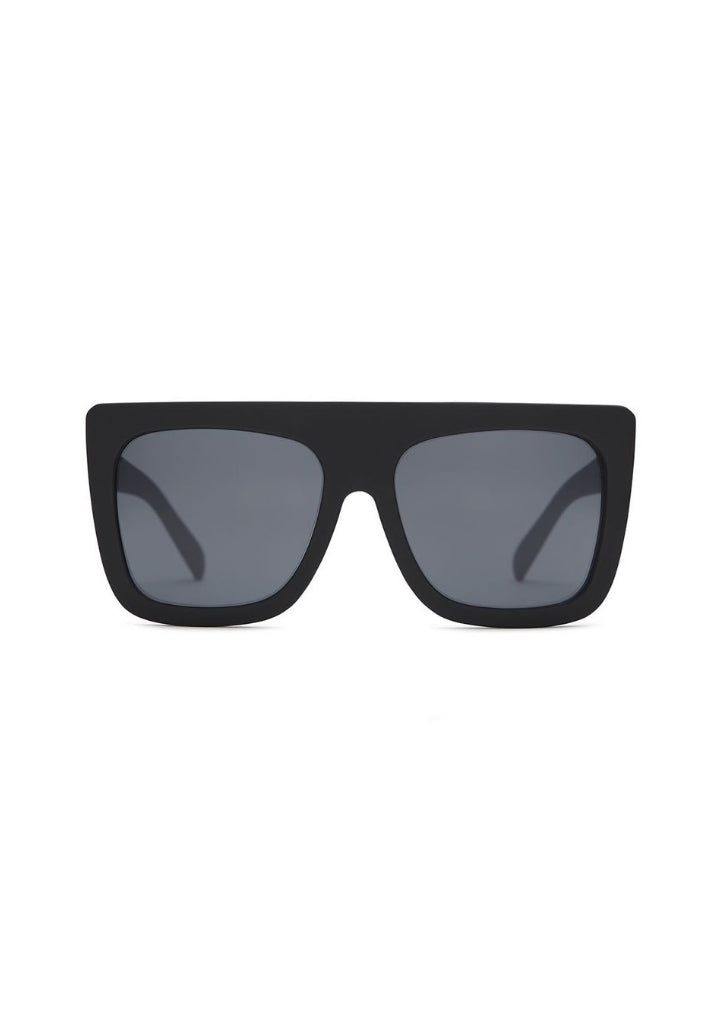 QUAY SUNGLASSES - CAFE RACER BLACK