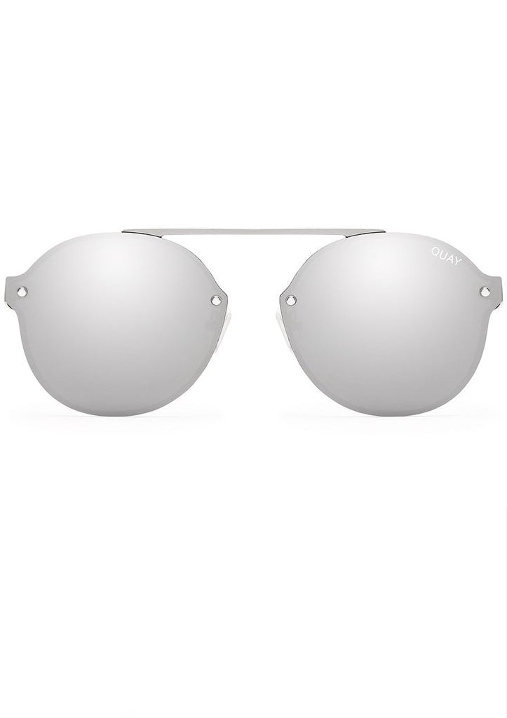 QUAY SUNGLASSES - CAMDEN HEIGHTS SILVER/SILVER