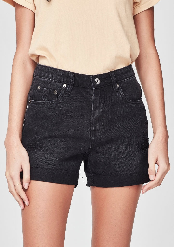 JUNKFOOD -DEMI SHORTS -BLACK