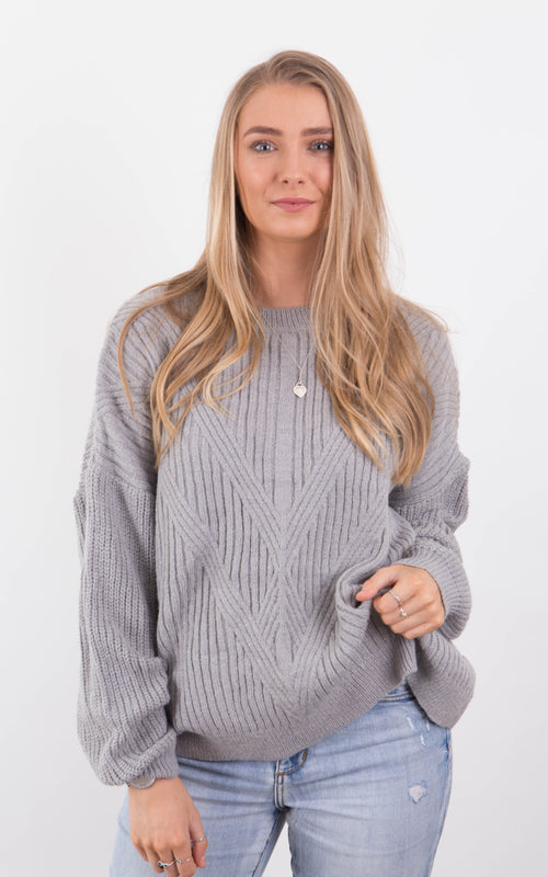 Maxwell Knit - Grey