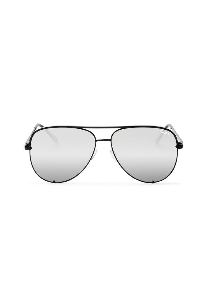 QUAY SUNGLASSES - HIGH KEY BLACK