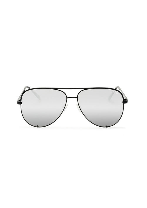 QUAY SUNGLASSES - MINI HIGH KEY BLACK