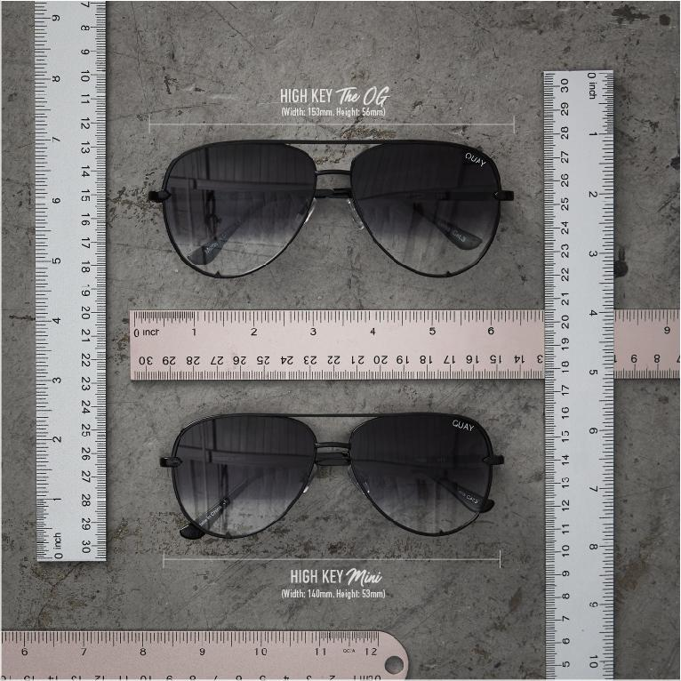 f57ab93993 QUAY X DESI SUNGLASSES - HIGH KEY BLACK FADE – Pagan Marie Boutique