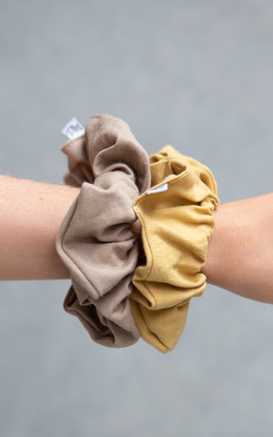 Cotton Scrunchie 2PK - Taffy + Iris