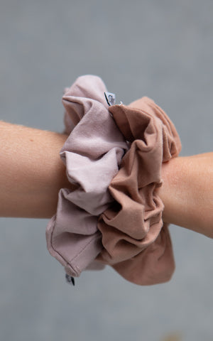 Cotton Scrunchie - Dahlia