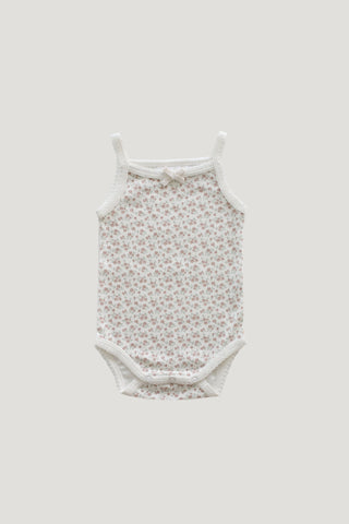 Jamie Kay - Cotton Modal singlet - Milk